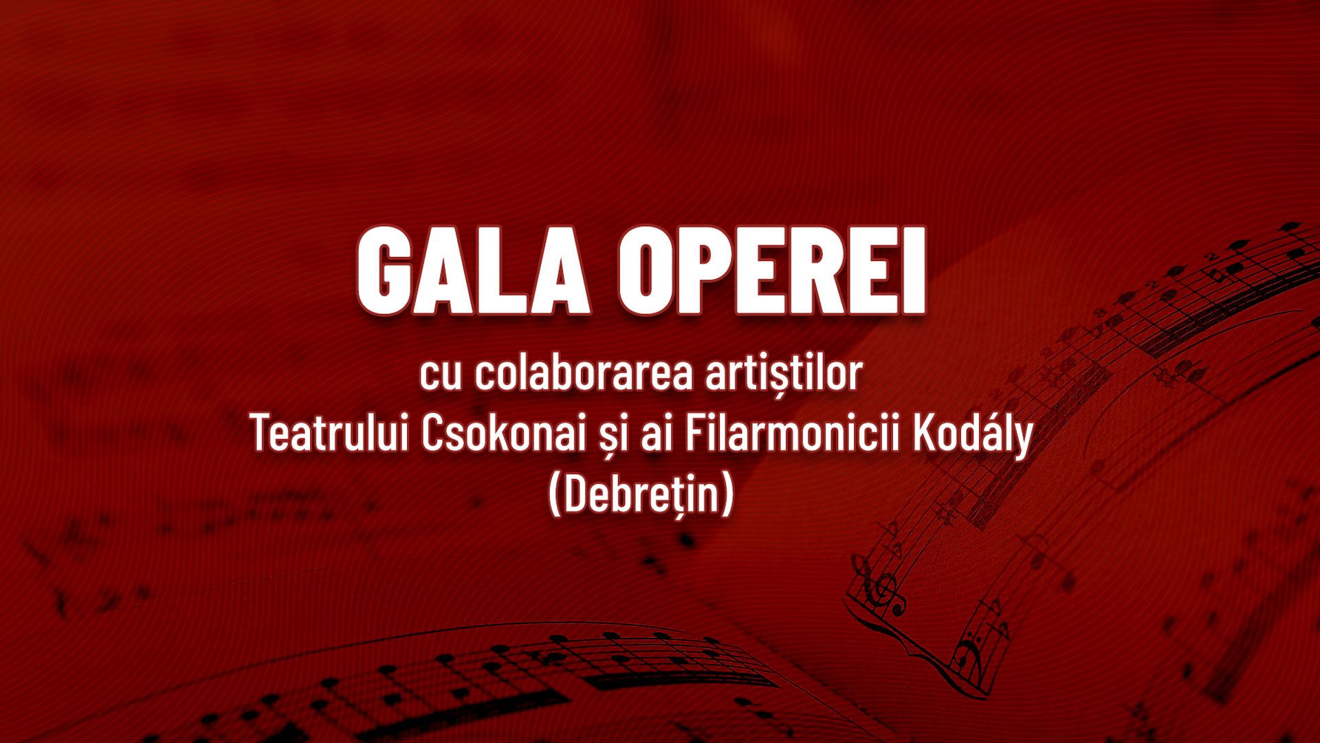 Gala de deschidere a festivalului – Gală de Operă